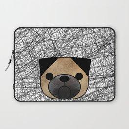 Pug Dog Laptop Sleeve