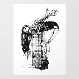 Love and Geometry Art Print