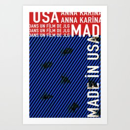 Made in USA Art Print