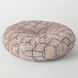 Pretty Geometry 1 Floor Pillow