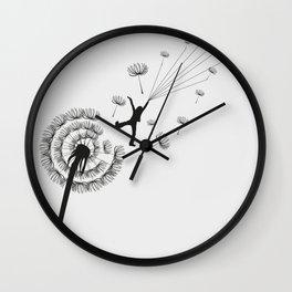 Free Dandelion Wall Clock