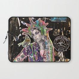Rehab Amy Graffiti in New York City Laptop Sleeve