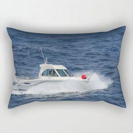 A day at sea Rectangular Pillow