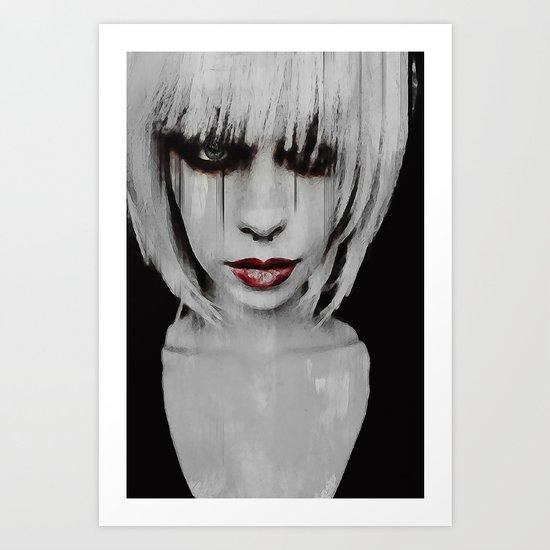 Lyric Portrait Art Print