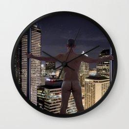 Naked City Wall Clock