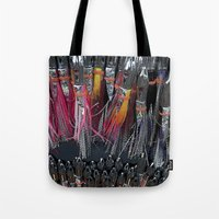 fishing Tote Bags featuring Fishing by Mary Kilbreath