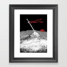 A Remnant Framed Art Print