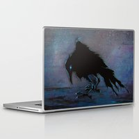 raven Laptop & iPad Skins featuring Raven by Christine's heART