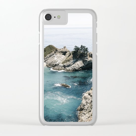 Mcway Falls Faded Clear iPhone Case