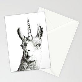 Llamacorn Stationery Cards
