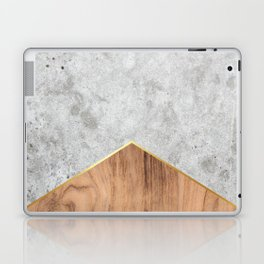 Concrete Arrow Wood #345 Laptop & iPad Skin
