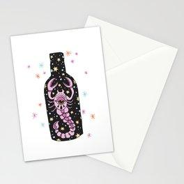 Scorpion eye Stationery Cards
