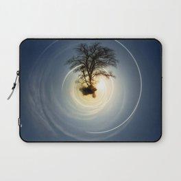 Tiny Planet 5 - The Last Lampost Laptop Sleeve