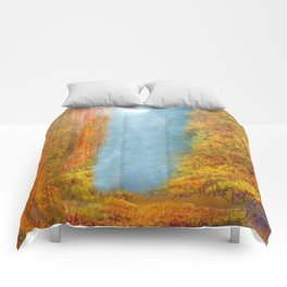 Colorful Woodlands Comforters