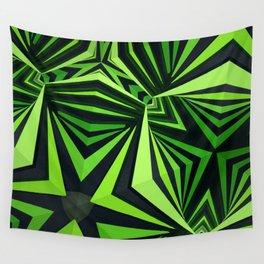 """Clockwork"" kaleidoscope Wall Tapestry"
