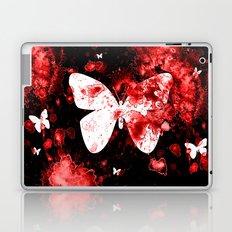 Butterfly Splatter Laptop & iPad Skin