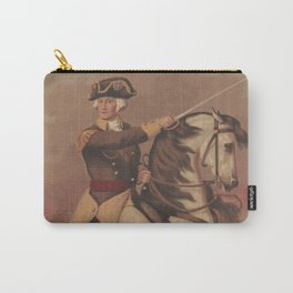 Vintage General Washington at Trenton Illustration (1875) Carry-All Pouch