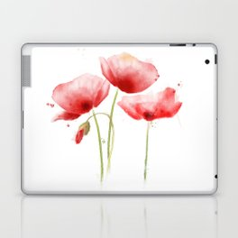 Poppy flowers Laptop & iPad Skin