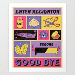 Good Bye Art Print