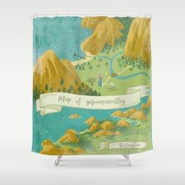 Moominvalley Map Interpretation (1/3) Shower Curtain
