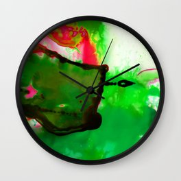 Abstract Bliss 4Q by Kathy Morton Stanion Wall Clock