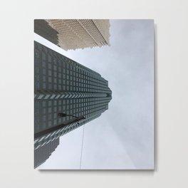 Downtown Montréal Metal Print