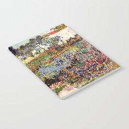 Vincent Van Gogh Flowering Garden Notebook