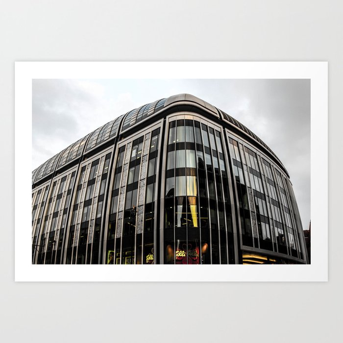 ArtWork London Black and Colour UK Photo Art Art Print