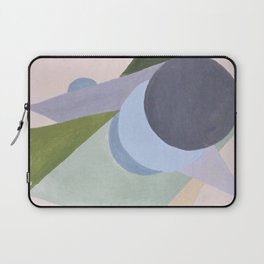 Green triangles Laptop Sleeve