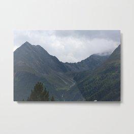 Huben tirol alps Metal Print