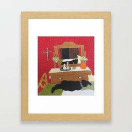 Afternoon Nap Framed Art Print