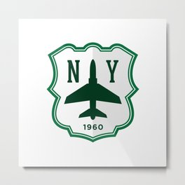 NYJFC (Spanish) Metal Print