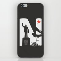 1975 iPhone & iPod Skins featuring Neto 11Nov 1975 Black by O ilusionista