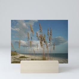 Sea Oats Seascape Mini Art Print