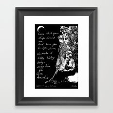 come sail.. Framed Art Print