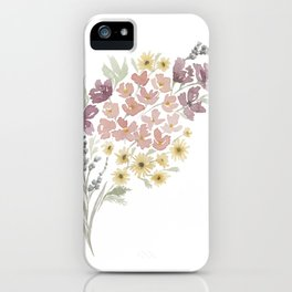 Spring Foraged Bouquet iPhone Case