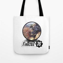 Fallout 76 circle Tote Bag