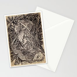 Diffracted (Cavern Dweller) Stationery Cards