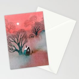 Misty Moors Stationery Cards