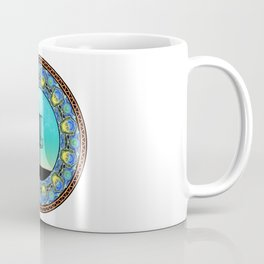 Disc Golf Abstract Basket 5 Coffee Mug