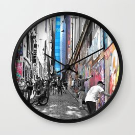 Making Hosier Lane Street Art Wall Clock