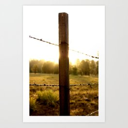 Remember the Ranchers Art Print
