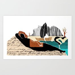 Gabriela Mistral 2 era prosa Art Print