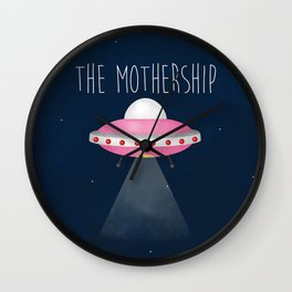 The Mothership Wall Clock