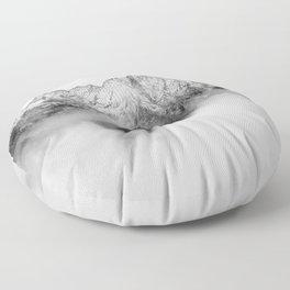 Peaks on the Mist Floor Pillow