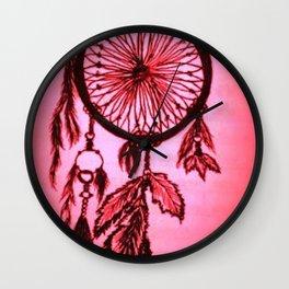 Sunset Dream Catcher - Enhanced Wall Clock