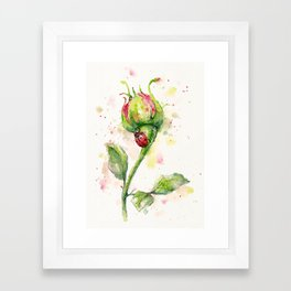 Ladybug Lane Framed Art Print