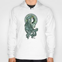 hallion Hoodies featuring Zelda Nouveau by Karen Hallion Illustrations