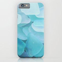 Sea Glass Ocean Blue iPhone Case