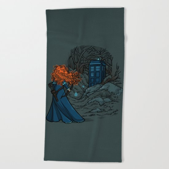 Follow Your fate Beach Towel